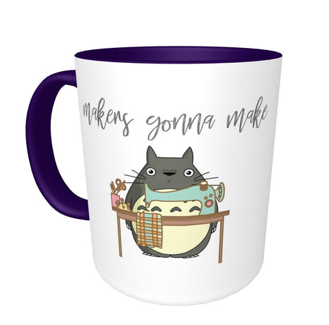 Totoro Makers Gonna Make Mug