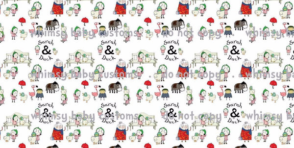 Fabric Sarah and Duck