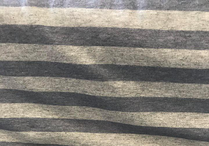 Fabric Heather Stripes Blue