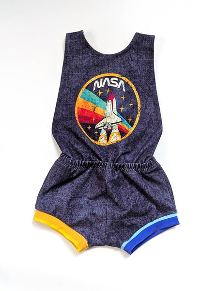 a1072 Adult/Romper Nasa