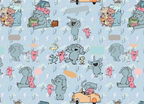 July/Aug 2020 Preorder - Fabric Elephant and Piggy Read ON VARIOUS BASES