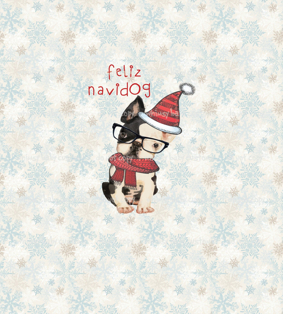 Flash Christmas Preorder - Child Panel Feliz Navidog