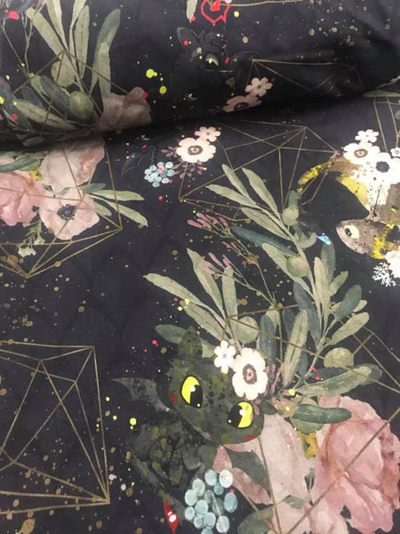 Nov/Dec 2019 Preorder - Fabric Geo and Floral WITH TOOTHLESS ON VARIOUS BASES