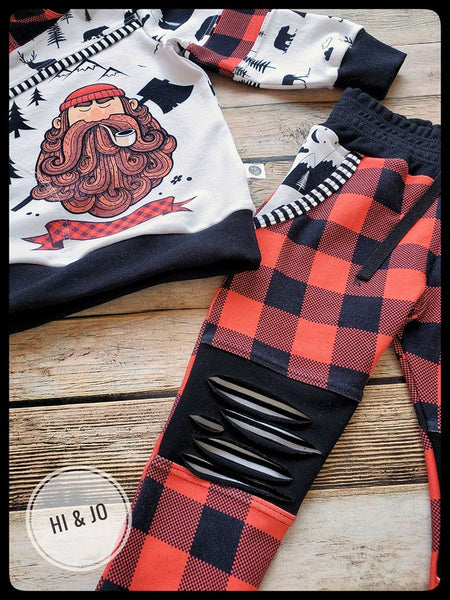 Rapport Lumberjack Man with Axe