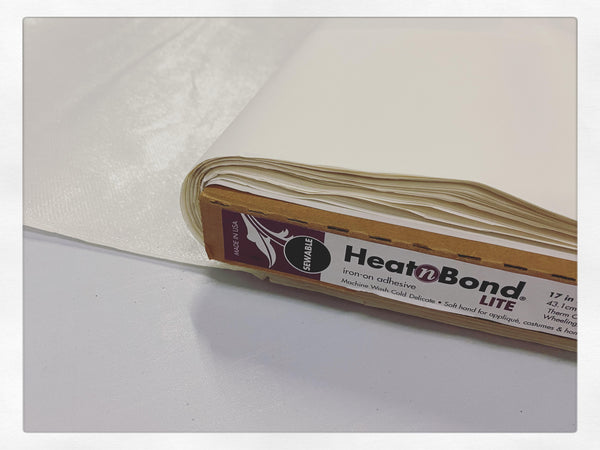 "Heat 'n Bond Lite Fusible is 17"" Wide"