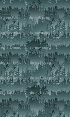 January 2020 Preorder - Fabric Green Forest