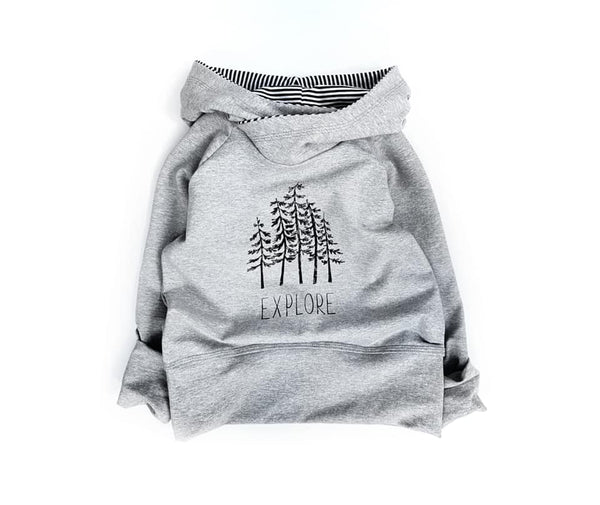 302H Explore Trees Child Panel (on HEATHER GREY)