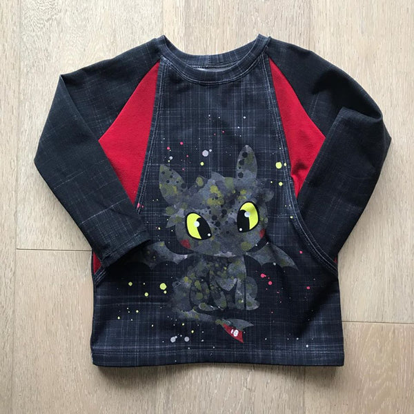 Child Panel Toothless with Back