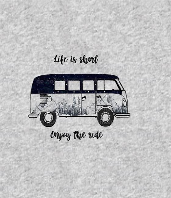 316H Child Panel Life is Short Enjoy The Ride VW
