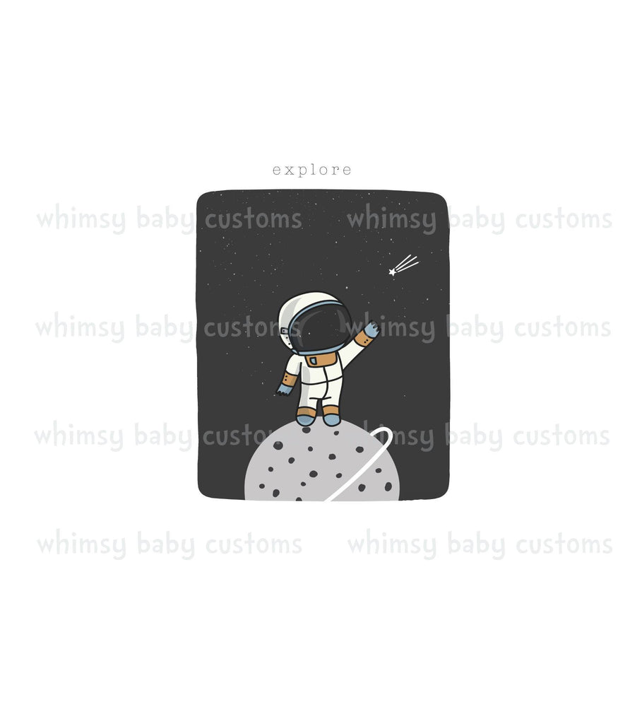 Child Panel Space Astronaut