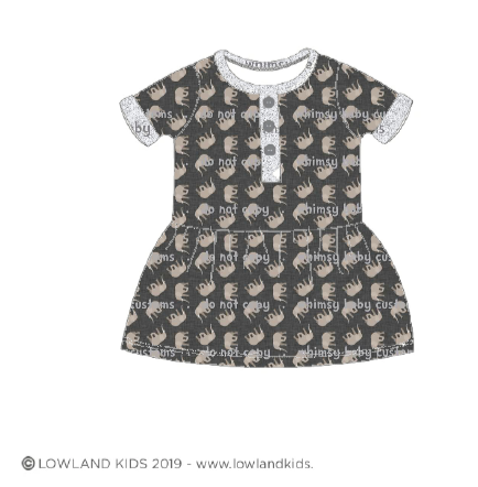 May/June 2020 Preorder - Fabric Elephants Linen Look