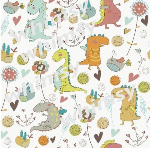 Fabric Dinos and Dragons
