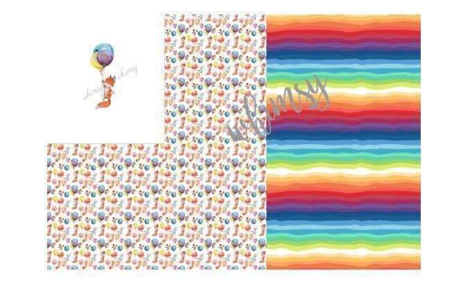 May/June CPG's 2020 Preorder - Rapport Watercolor Fox with Balloons