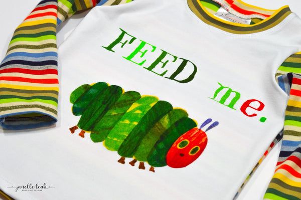 890 Feed Me Caterpillar Child Panel