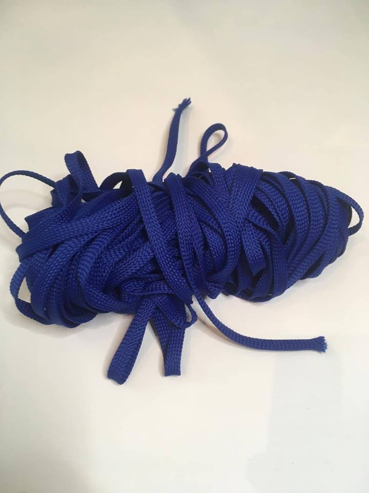 D018 Royal Blue Drawstring (Round)