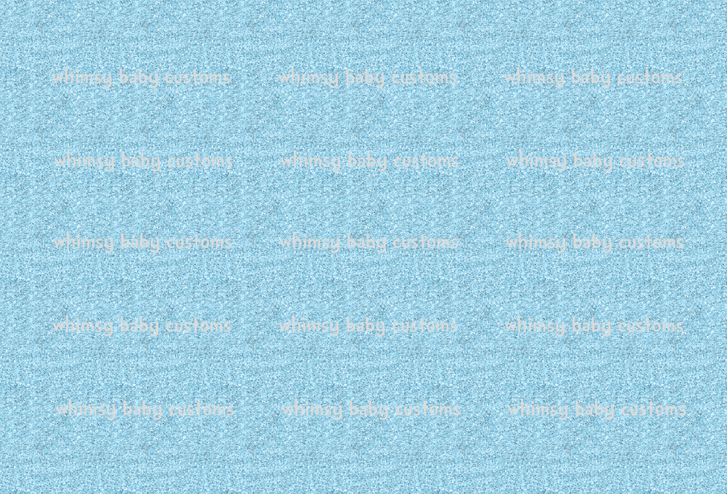 May/June 2020 Preorder - Fabric Glitter Ice Blue