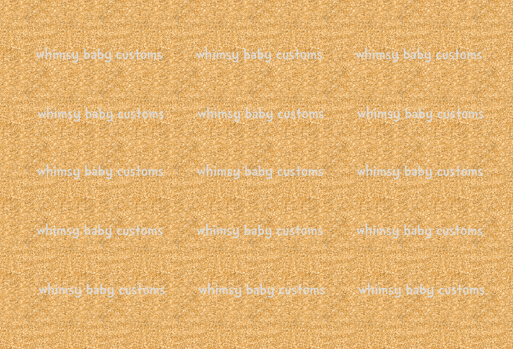 May/June 2020 Preorder - Fabric Glitter Gold