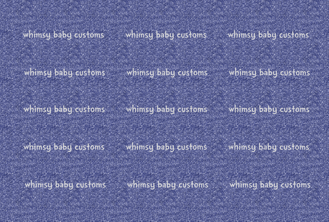 May/June 2020 Preorder - Fabric Glitter Navy Blue
