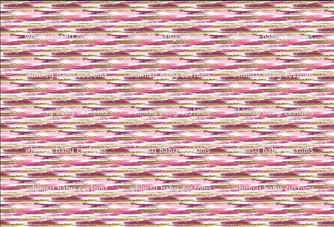 May/June 2020 Preorder - Fabric Pink and Gold Paint Stripes