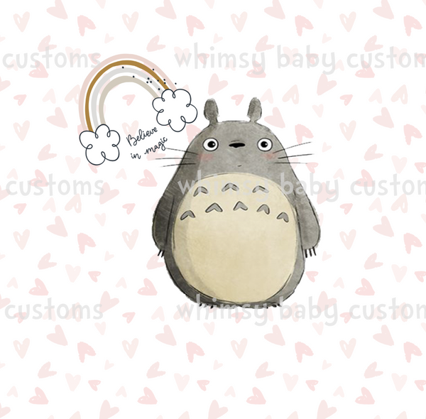 Child Underwear Panel Totoro Believe in Magic