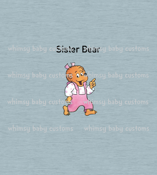 Books April 2021 Preorder - Berenstain Bears Sister Bear Child Panel