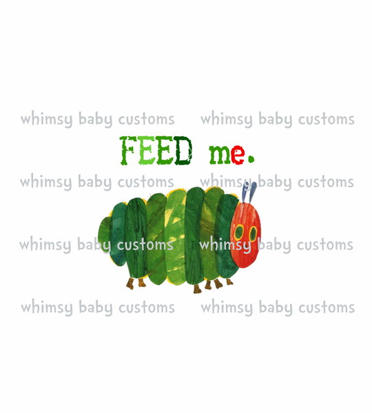 Books April 2021 Preorder - Feed Me Caterpillar Child Panel