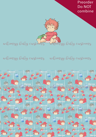 UC015 Ponyo Children's Underwear Panel