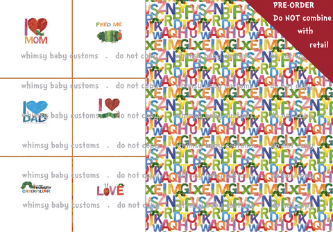 Rapport Hungry Caterpillar INFANT (small panels)