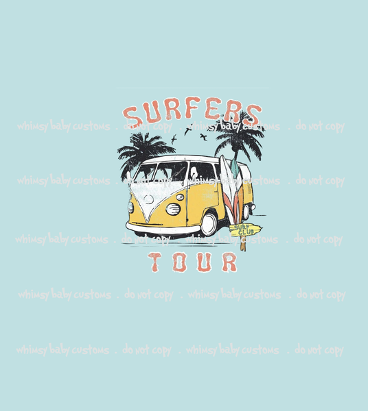 614 Surfer's Tour VW Bus Child Panel