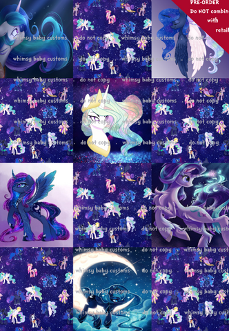 Fluff 2020 Preorder- Lazy Quilt My Little Pony