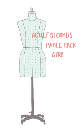 Adult / Romper Panel Pack - Seconds and/or Discontinued - GIRL