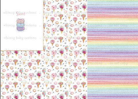April Preorder - Rapport Sweet Watercolour Macaroon