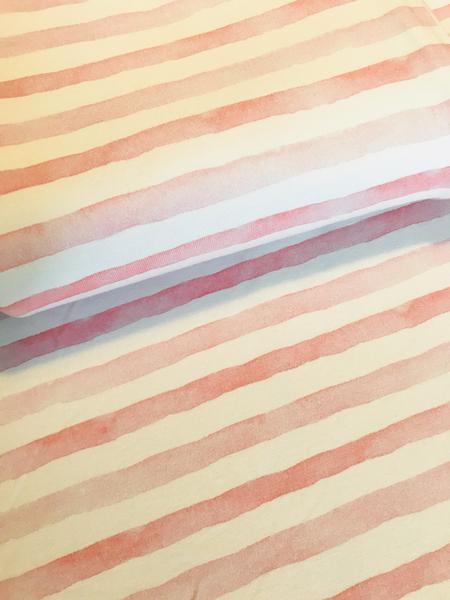 Watercolour Stripes Pink