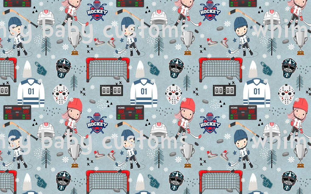 Fabric Hockey on COTTON LYCRA
