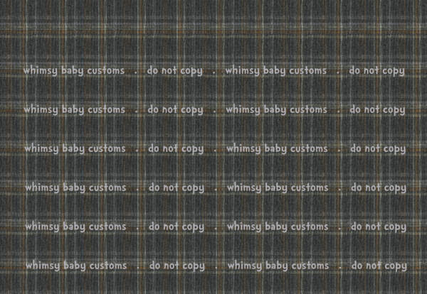 New Arrivals: Grey and Mustard Tartan Plaid Fabric - CL