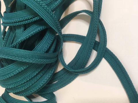 Teal Spiral Piping