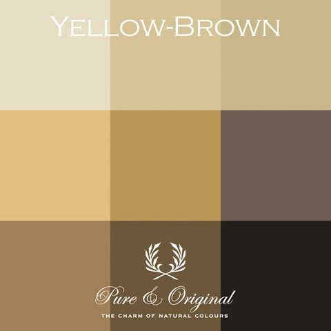 Pure & Original Yellow-Brown