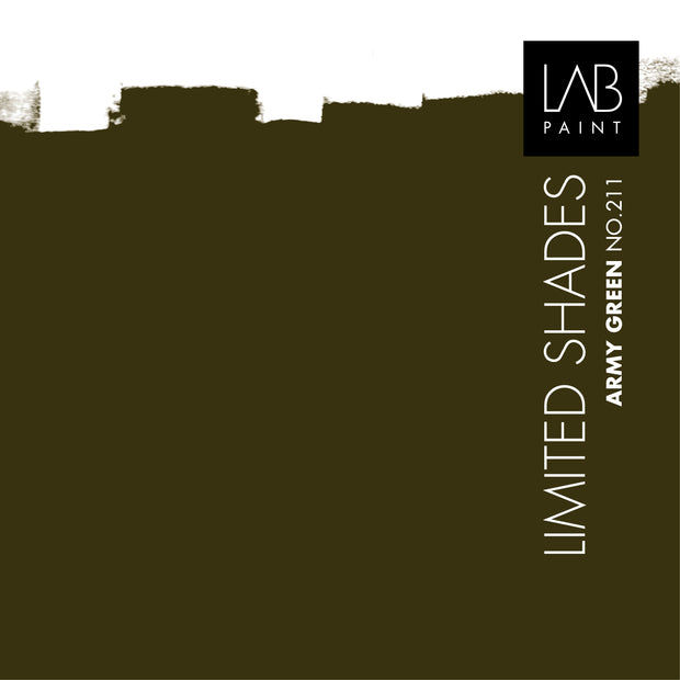 Army Green no. 211 - LAB COLOURS | Limited Shades