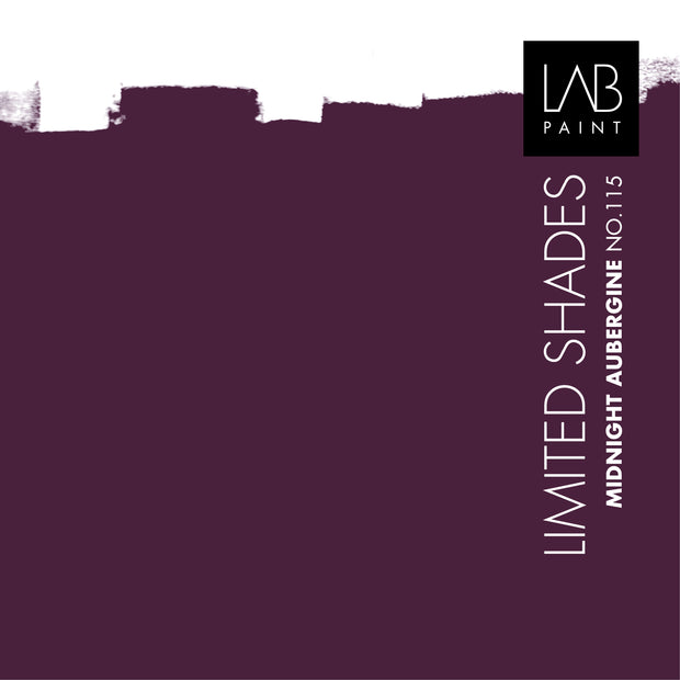 Midnight Aubergine no. 115 - LAB COLOURS | Limited Shades