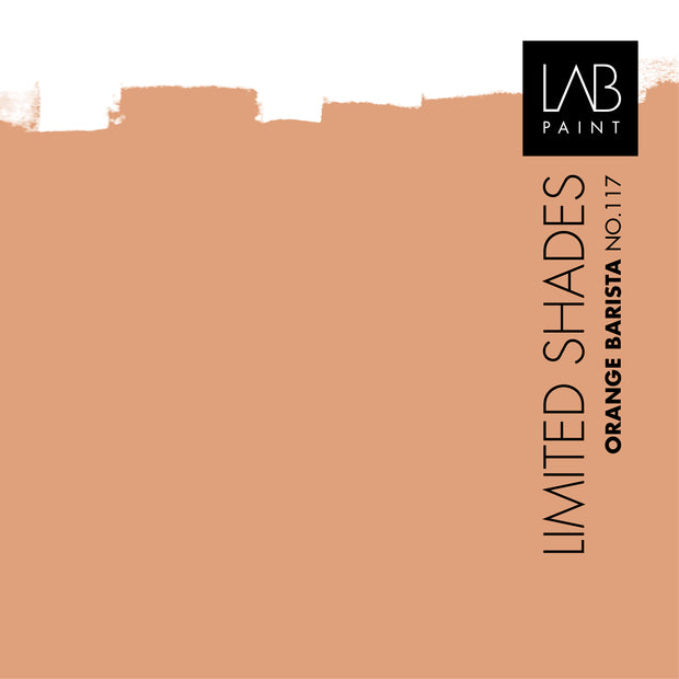 Orange Barista no. 117 - LAB COLOURS | Limited Shades