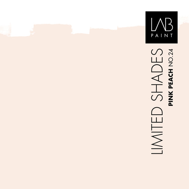 Pink Peach no. 24 - LAB COLOURS | Limited Shades