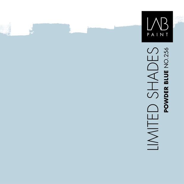 Powder Blue no. 256 - LAB COLOURS | Limited Shades