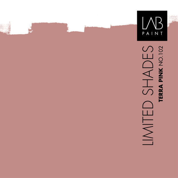 Terra Pink no. 102 - LAB COLOURS | Limited Shades