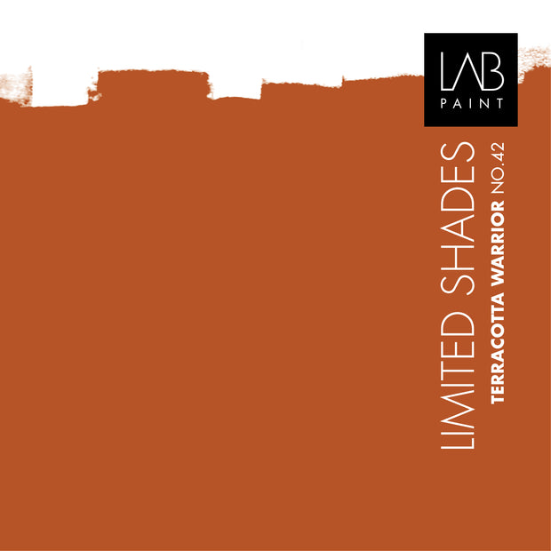 Terracotta Warrior no. 42 - LAB COLOURS | Limited Shades