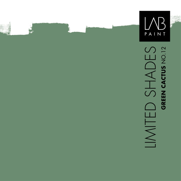 Green Cactus no. 12 - LAB COLOURS | Limited Shades
