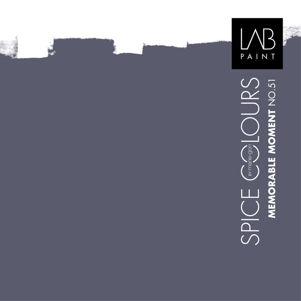 Spice kleurenstalen - LAB PAINT by Marie-Gon Collection