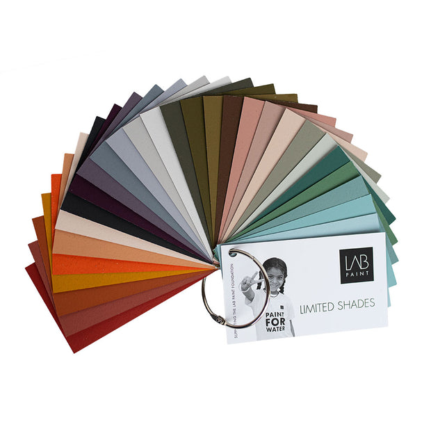Limited Shades Kleurenstalen - LAB COLOURS