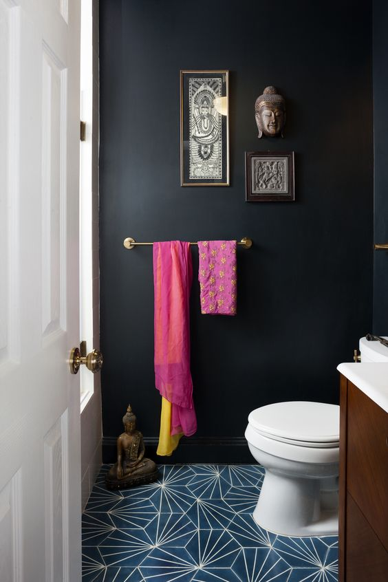 Farrow and Ball Black blue