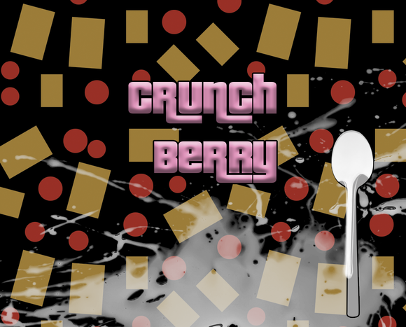 Crunch Berry E-Liquid by Blue Vapes