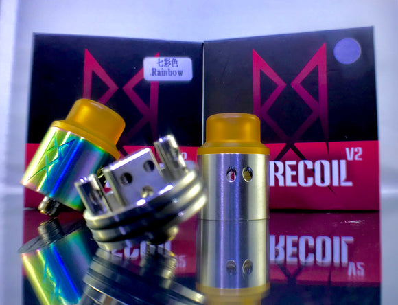 Recoil Rebel V2 Styled RDA Rebuildable Drip Atomizers - Blue Vapes Canada